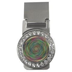 Spiral Spin Background Artwork Money Clips (cz)