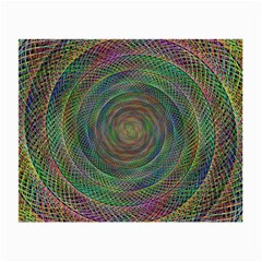 Spiral Spin Background Artwork Small Glasses Cloth (2 Side)