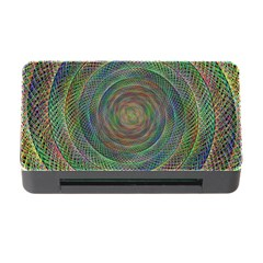 Spiral Spin Background Artwork Memory Card Reader With Cf