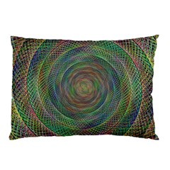 Spiral Spin Background Artwork Pillow Case (two Sides)