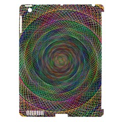 Spiral Spin Background Artwork Apple Ipad 3/4 Hardshell Case (compatible With Smart Cover)