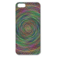Spiral Spin Background Artwork Apple Seamless Iphone 5 Case (clear)