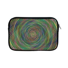 Spiral Spin Background Artwork Apple Ipad Mini Zipper Cases