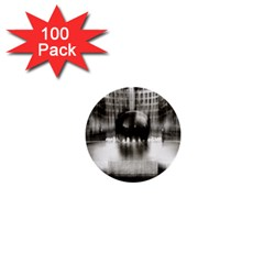 Black And White Hdr Spreebogen 1  Mini Buttons (100 Pack)