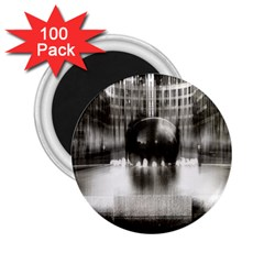 Black And White Hdr Spreebogen 2 25  Magnets (100 Pack)