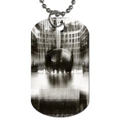 Black And White Hdr Spreebogen Dog Tag (one Side)