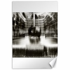 Black And White Hdr Spreebogen Canvas 24  X 36