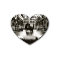 Black And White Hdr Spreebogen Heart Coaster (4 Pack)