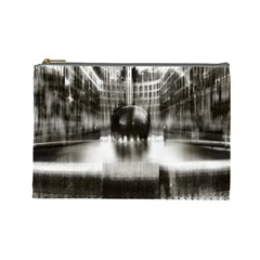 Black And White Hdr Spreebogen Cosmetic Bag (large)
