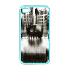 Black And White Hdr Spreebogen Apple Iphone 4 Case (color)