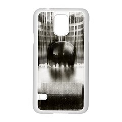 Black And White Hdr Spreebogen Samsung Galaxy S5 Case (white)