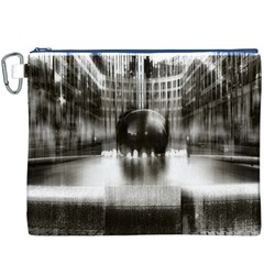 Black And White Hdr Spreebogen Canvas Cosmetic Bag (xxxl)