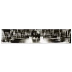 Black And White Hdr Spreebogen Flano Scarf (small)