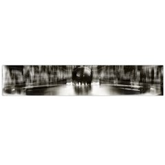 Black And White Hdr Spreebogen Flano Scarf (large)