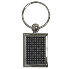 Kaleidoscope Seamless Pattern Key Chains (rectangle)