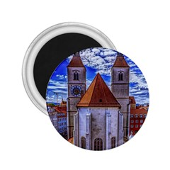 Steeple Church Building Sky Great 2 25  Magnets