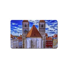 Steeple Church Building Sky Great Magnet (name Card)