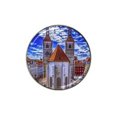 Steeple Church Building Sky Great Hat Clip Ball Marker (10 Pack)