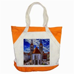 Steeple Church Building Sky Great Accent Tote Bag