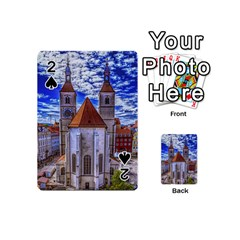 Steeple Church Building Sky Great Playing Cards 54 (mini)