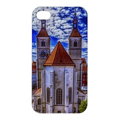Steeple Church Building Sky Great Apple Iphone 4/4s Hardshell Case