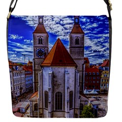 Steeple Church Building Sky Great Flap Messenger Bag (s)