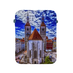 Steeple Church Building Sky Great Apple Ipad 2/3/4 Protective Soft Cases