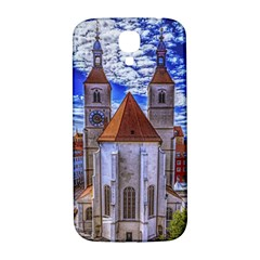 Steeple Church Building Sky Great Samsung Galaxy S4 I9500/i9505  Hardshell Back Case