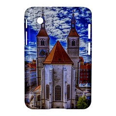Steeple Church Building Sky Great Samsung Galaxy Tab 2 (7 ) P3100 Hardshell Case