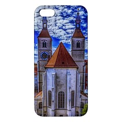 Steeple Church Building Sky Great Iphone 5s/ Se Premium Hardshell Case