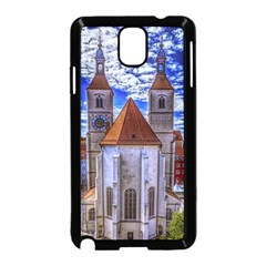 Steeple Church Building Sky Great Samsung Galaxy Note 3 Neo Hardshell Case (black)