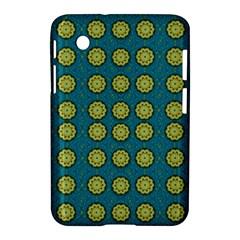 Sunshine Mandalas On Blue Samsung Galaxy Tab 2 (7 ) P3100 Hardshell Case