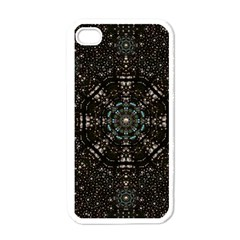 Pearl Stars On A Wonderful Sky Of Star Constellations Apple Iphone 4 Case (white)