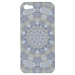 Flower Lace In Decorative Style Apple Iphone 5 Hardshell Case