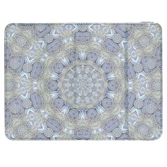 Flower Lace In Decorative Style Samsung Galaxy Tab 7  P1000 Flip Case