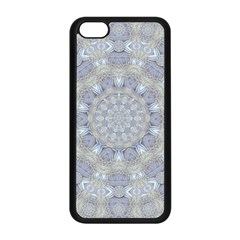 Flower Lace In Decorative Style Apple Iphone 5c Seamless Case (black)