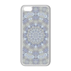 Flower Lace In Decorative Style Apple Iphone 5c Seamless Case (white)