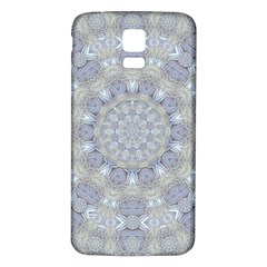 Flower Lace In Decorative Style Samsung Galaxy S5 Back Case (white)
