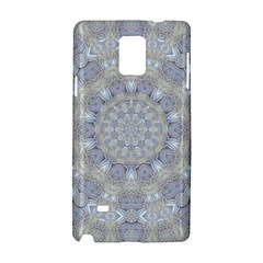 Flower Lace In Decorative Style Samsung Galaxy Note 4 Hardshell Case