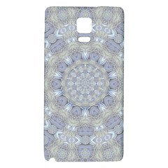 Flower Lace In Decorative Style Galaxy Note 4 Back Case