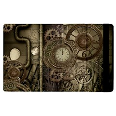 Stemapunk Design With Clocks And Gears Apple Ipad Pro 9 7   Flip Case