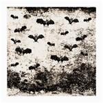 Vintage Halloween Bat pattern Medium Glasses Cloth (2-Side) Back
