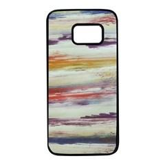 Imagesart Li Photo 27 06 2017, 8 10 22 Am Cara Azul Samsung Galaxy S7 Black Seamless Case
