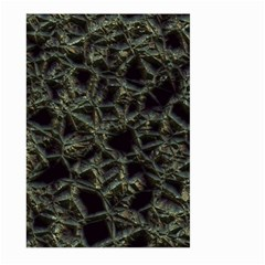 Jagged Stone 2d Large Garden Flag (two Sides)