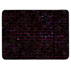 Brick1 Black Marble & Burgundy Marble Samsung Galaxy Tab 7  P1000 Flip Case
