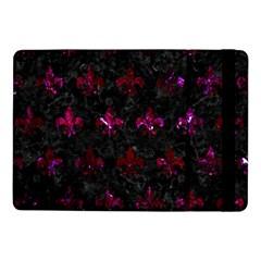 Royal1 Black Marble & Burgundy Marble (r) Samsung Galaxy Tab Pro 10 1  Flip Case