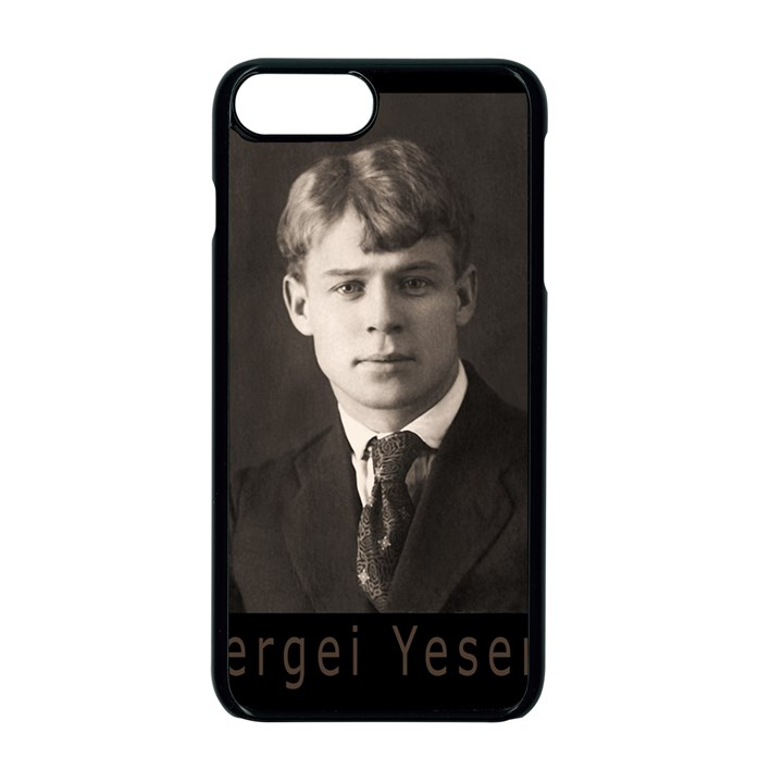 Sergei Yesenin Apple iPhone 7 Plus Seamless Case (Black)