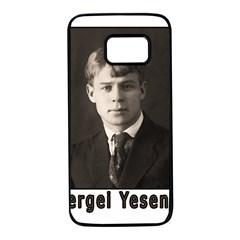 Sergei Yesenin Samsung Galaxy S7 Black Seamless Case
