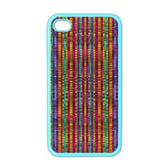 Star Fall In  Retro Peacock Colors Apple Iphone 4 Case (color)