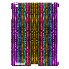 Star Fall In  Retro Peacock Colors Apple Ipad 3/4 Hardshell Case (compatible With Smart Cover)